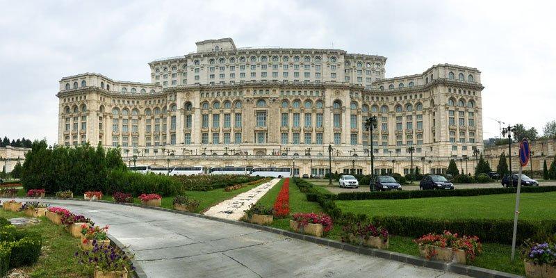 Bucarest - Palazzo del Parlamento