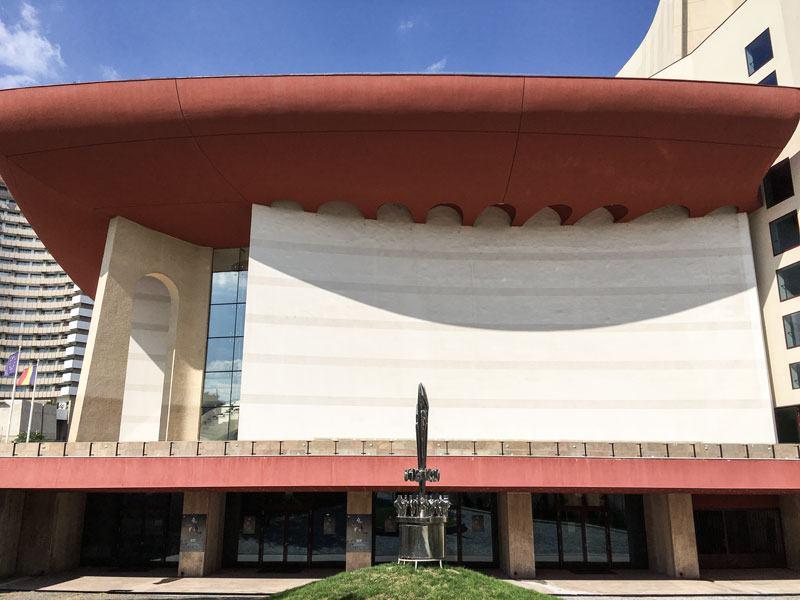 Bucarest - Teatro nazionale di bucarest