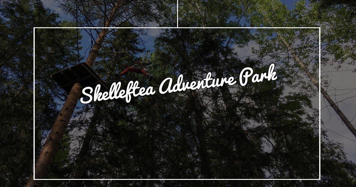 Lapponia in estate: un parco avventura nella foresta svedese di Skellefteå
