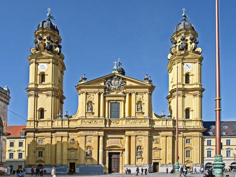 Monaco di Baviera – La Chiesa di San Gaetano e l'Ordine dei Teatini