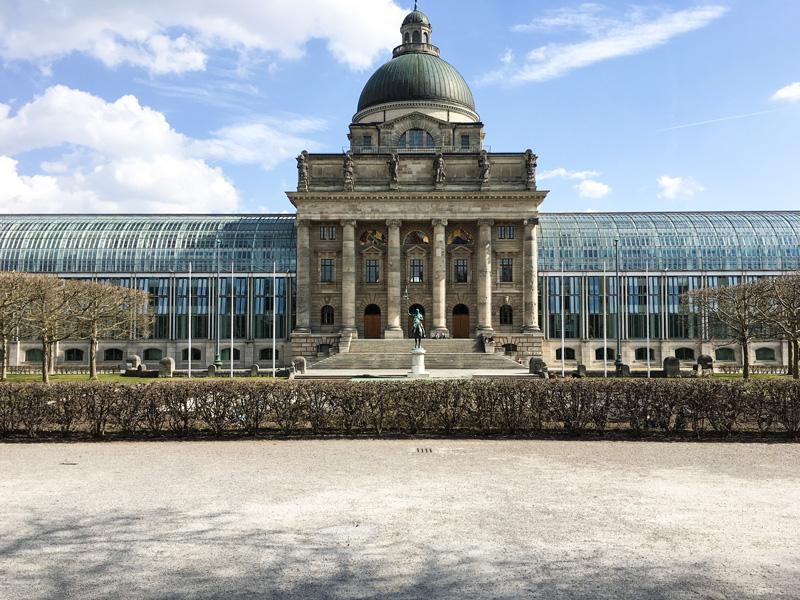 Monaco - Hofgarten di Munich