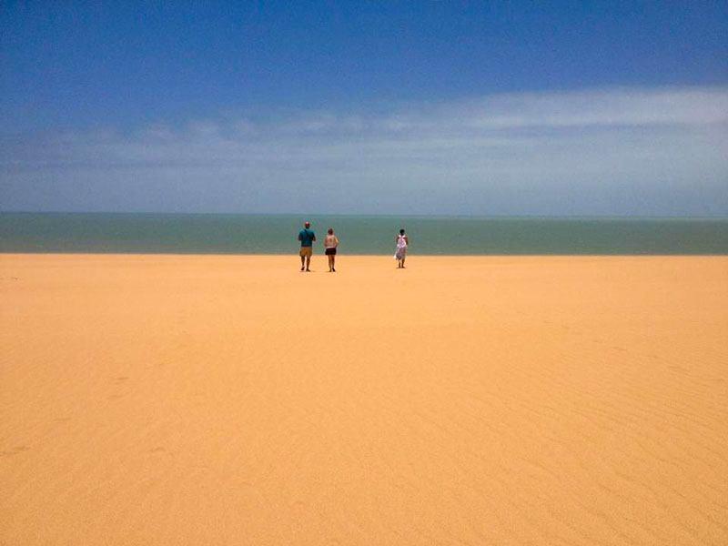Il deserto colombiano - zona Guajira