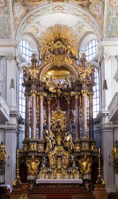 Monaco - La Chiesa di San Pietro