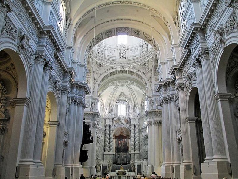 Monaco - La Chiesa di San Gaetano