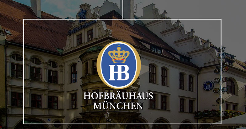 Una delle birrerie più famose di Monaco: Hofbräuhaus (HB Munchen)