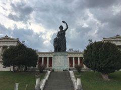 Copertina Statua della Bavaria
