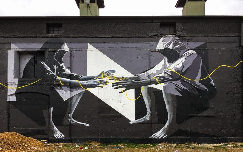 Street Art Monaco di Baviera - Area dello Schlachthof
