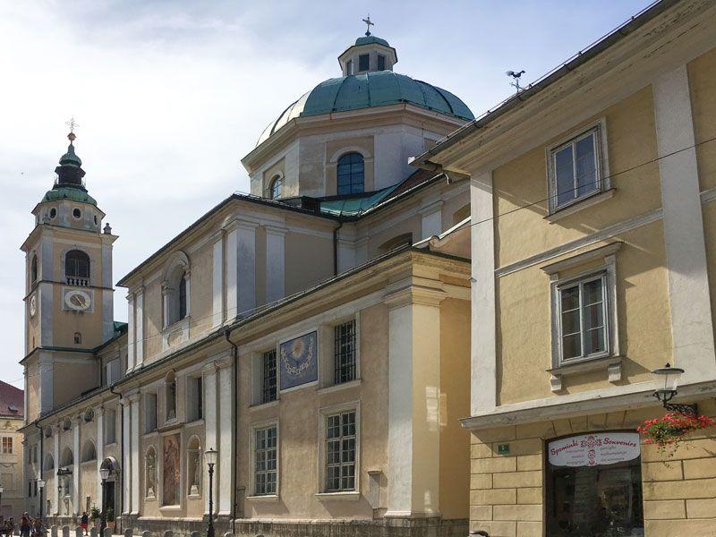 Copertina Cattedrale di Ljubljana