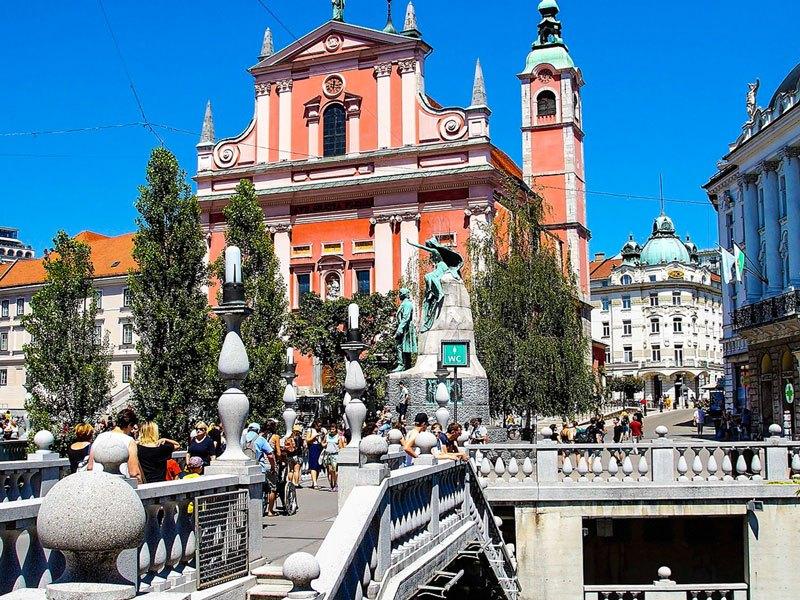 Copertina Piazza Prešeren
