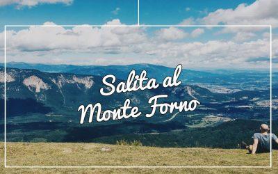 Salita al Monte Forno (Dreiländereck) : inizio del viaggio in Slovenia