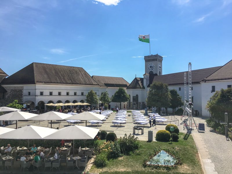 Copertina Castello di Ljubljana