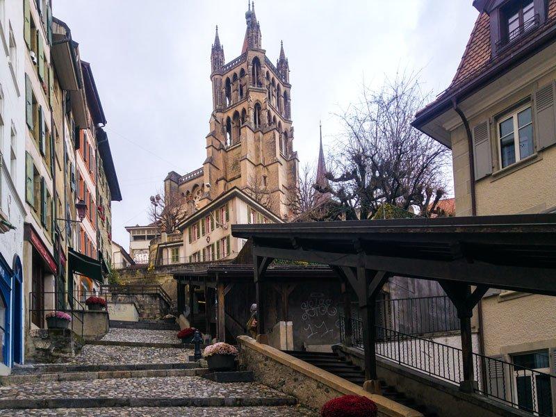 Cosa vedere a Losanna – Escaliers du Marchè