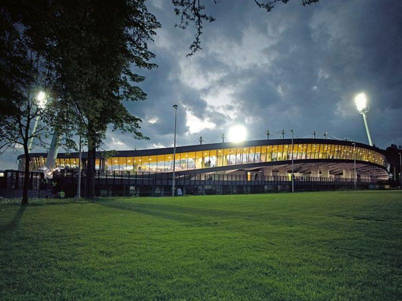 Ljudski vrt: lo stadio del Maribor, tra i più belli del mondo