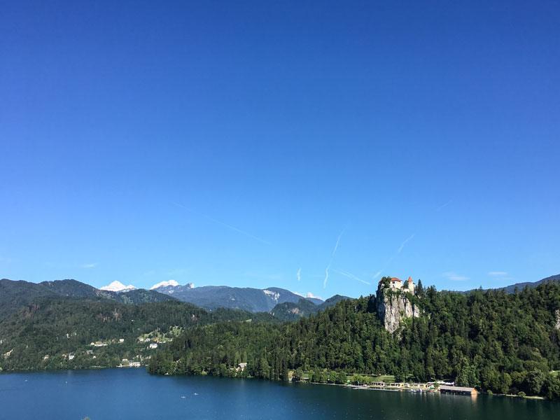 Cosa vedere a Bled: il castello (Blejski Grad)