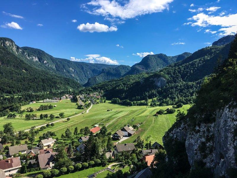 Iglica Falls: una cascata a pochi km da Bled