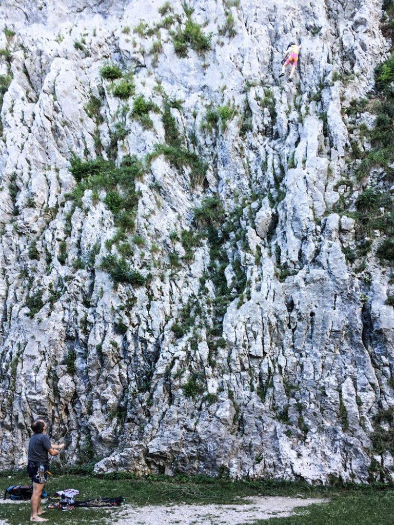Iglica-Falls---Bambina-Scala-Parete-di-Roccia
