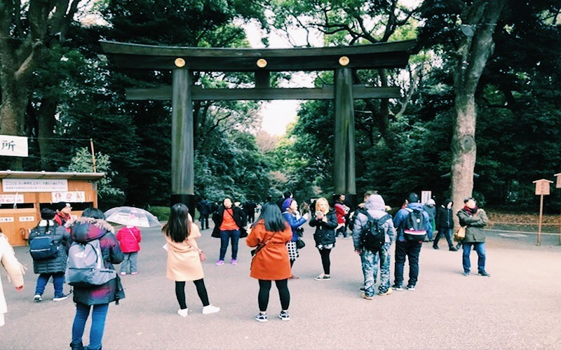 Tokyo-Entrata-Parco-di-Yoyogi