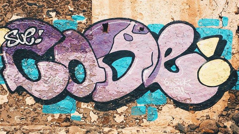 Street Art a Lanzarote - Playa Papagayo