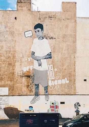 Street Art a Lanzarote - Arrecife CNFSN