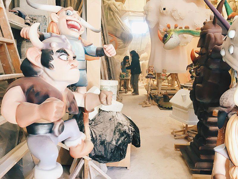 La Ciutat Fallera: dove nascono las fallas