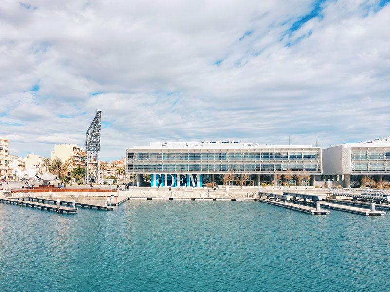 La zona del porto di Valencia
