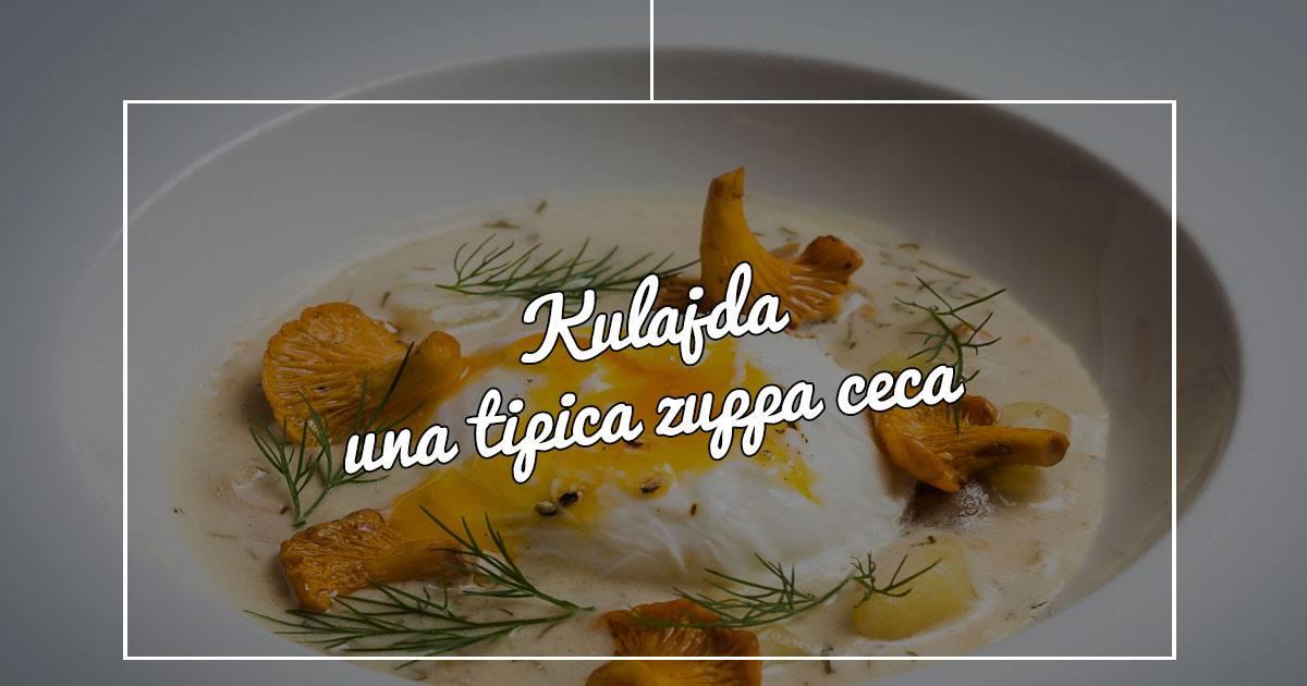 Un piatto tipico di Praga? Kulajda!