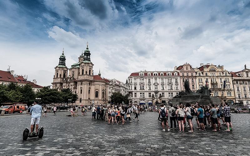 Praga - Piazza della città vecchia