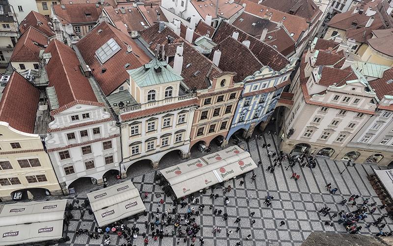 Il Municipio di Praga
