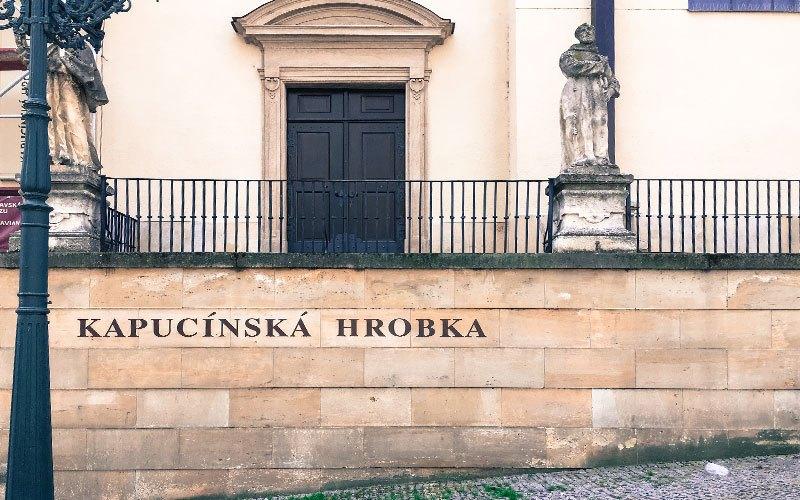 La cripta dei cappuccini di Brno