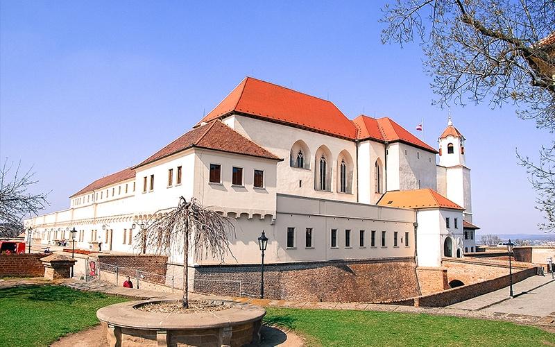 La fortezza dello Spielberg a Brno