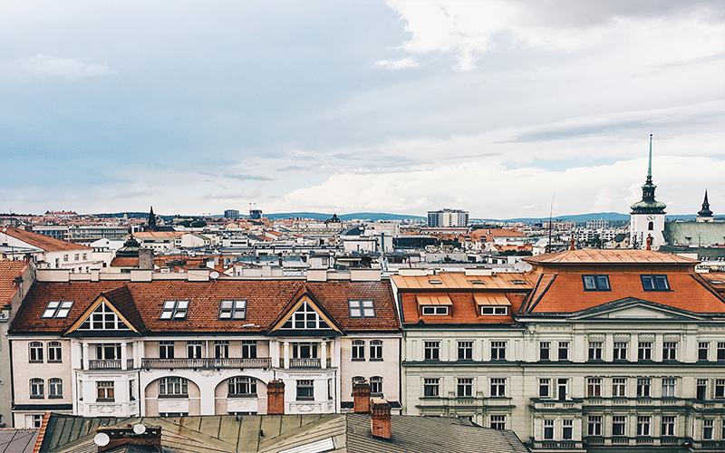 Le strane sculture di Brno