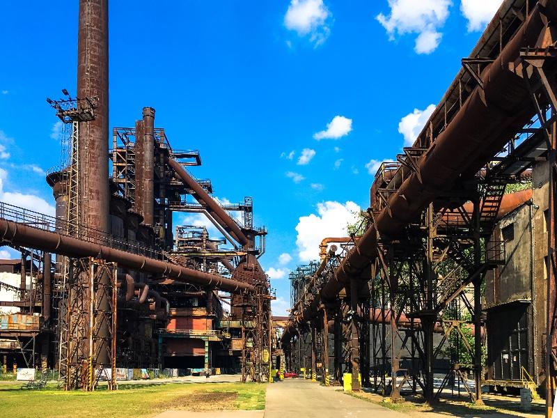 Vítkovice e la città dell'acciaio