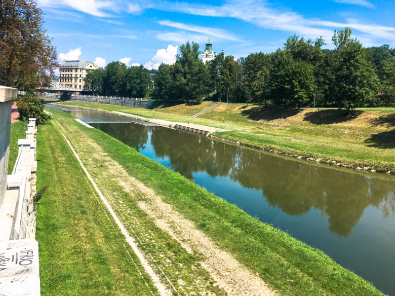 Ostravice: il lungo fiume di Ostrava