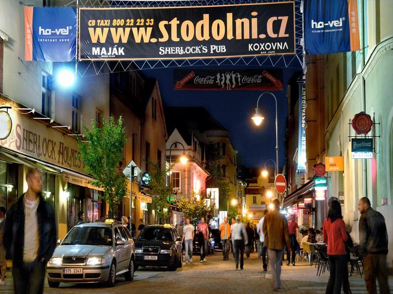 Stodolnì Street: la notte ad Ostrava