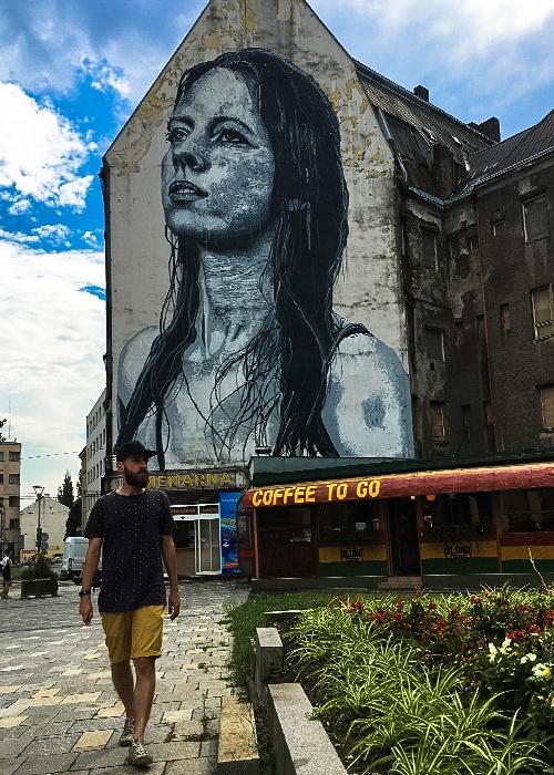 Street Art Ostrava Nils