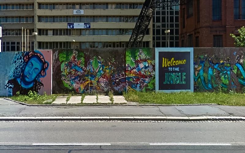 Street Art Ostrava Nádražní