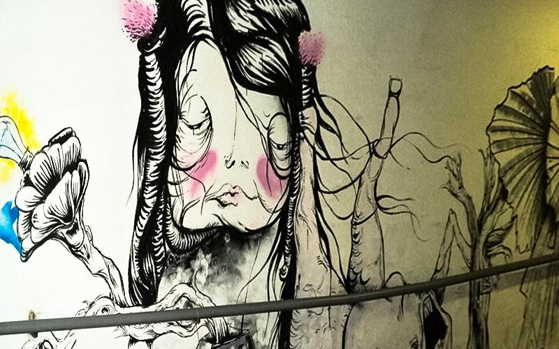 Street Art Ostrava dul-hlubina
