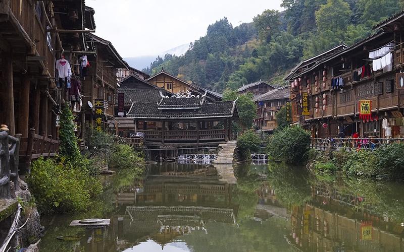 Zhaoxing---Ponte-del-vento