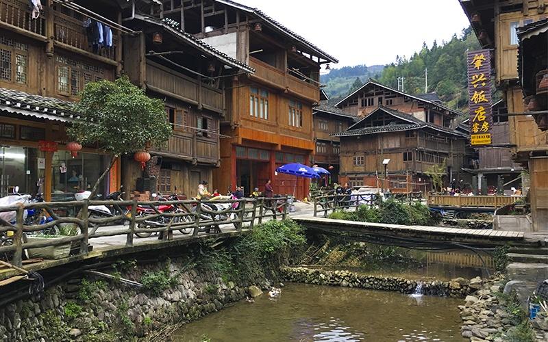 Zhaoxing---Villaggio-di-Zhaoxing