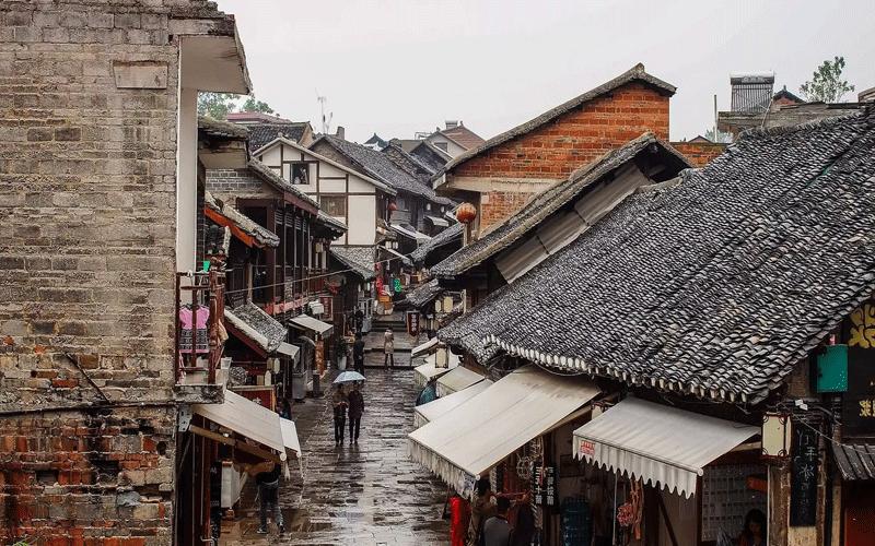 Qingyan la città interna