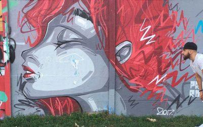 Street art e graffiti a Brno
