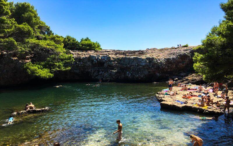 Isola-di-Lokrum-Spiaggia-Mar-Morto-