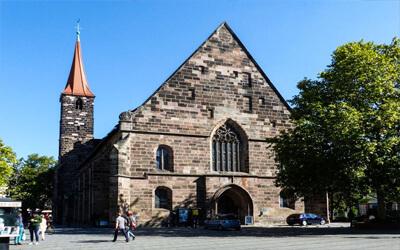 Norimberga-cosa-vedere-Chiesa-di-San-Giacomo-St-Jakobskirche