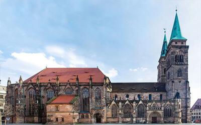Norimberga-cosa-vedere-Chiesa-di-San-Sebaldo-Sebaldskirche-1