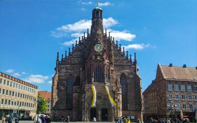 Norimberga-cosa-vedere-Frauenkirche-Nürnberg