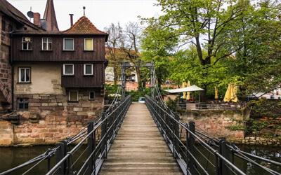 Norimberga-cosa-vedere-Ponte-delle-catene