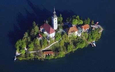Visitare Bled Isola-di-Bled-e-Chiesa