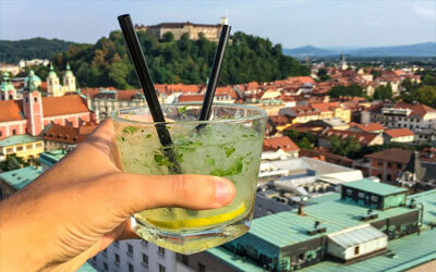 Visitare-Lubiana-Neboticnik-Tower-Ljubljana-