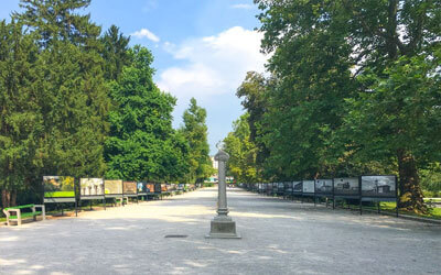 Visitare-Lubiana-Parco-Tivoli-Ljubljana