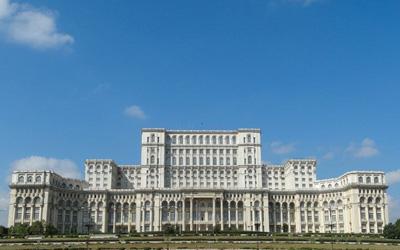 Bucarest-Copertina-Parlamento